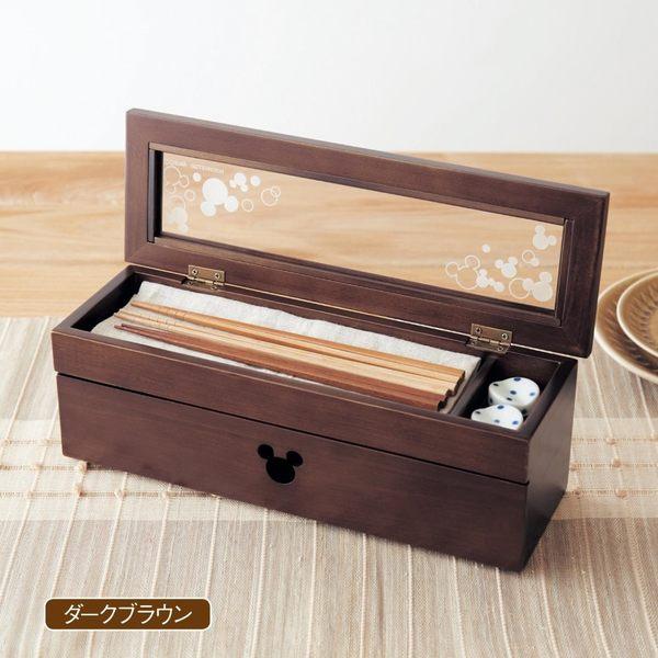 日本迪士尼米奇木製餐具盒筷架盒041480通販屋