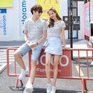 六月專屬價 同色繫情侶裝 百搭短袖T恤女洋裝 連身裙 套裝