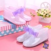 雨靴 兒童雨鞋防滑男童女童雨靴公主中大童小孩小學生寶寶水鞋水靴膠鞋 多色【快速出貨】