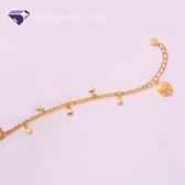 [原廠授權]『哆啦A夢-星星款』黃金手鍊-元大鑽石銀樓