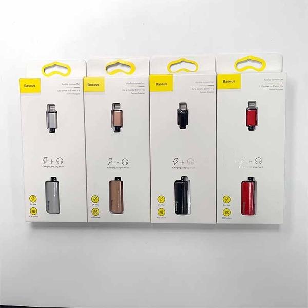倍思 蘋果二合一充電+聽音樂轉接線 lightning轉接頭 apple轉接器 L32