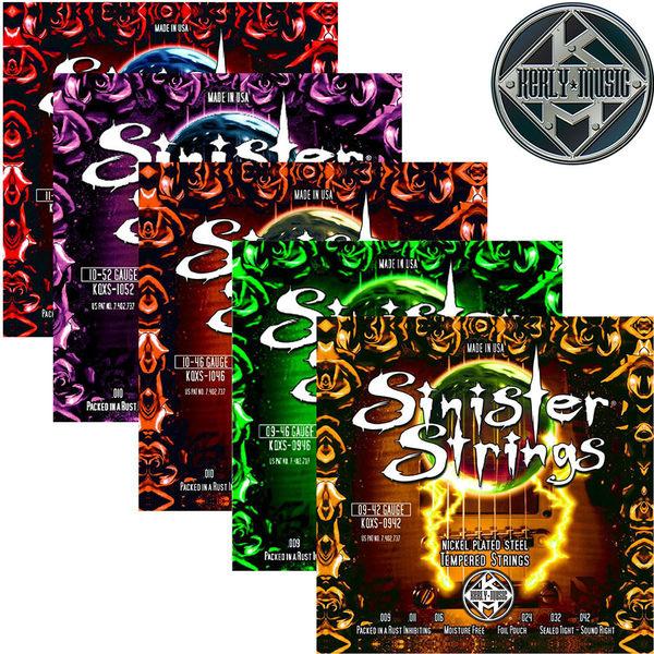 【小叮噹的店】全新 美國 Kerly Music 電吉他弦 Sinister系列 美製金屬回火弦 0942~1150