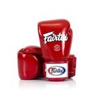 『VENUM旗艦館』8oz Fairtex 健身房 拳擊手套~重擊打沙袋 拳套~ 真皮拳套 - 經典款 紅色 BGV1