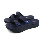 G.P 阿亮代言 拖鞋 涼鞋 防水 雨天 深藍 男鞋 G8591M-20 no885