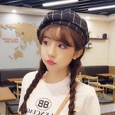 貝雷帽帽子女春秋夏季薄款韓版甜美可愛休閒百搭貝雷帽 野外之家