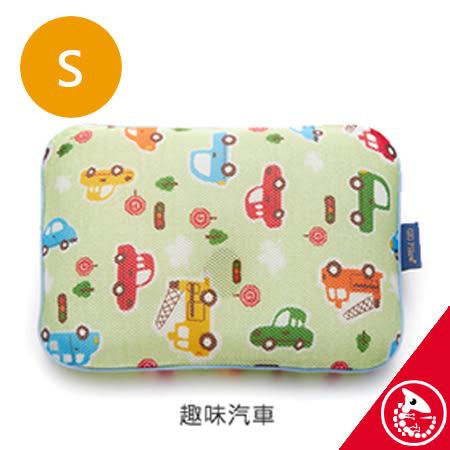 金寶貝 韓國 GIO Pillow 超透氣護頭型嬰兒枕頭 S號 趣味汽車【32662】