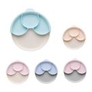 美國 Miniware 天然聚乳酸兒童學習餐具 麵包盤組+矽膠分隔盤 (多色可選)