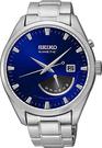 SEIKO【日本代購】男士手錶 人動電能 srn047p1寶藍色