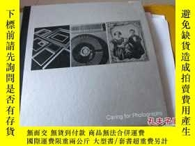 二手書博民逛書店caring罕見for photographs 12開 精裝11