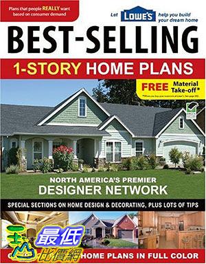 [105美國直購] Lowe s Best-Selling 1-Story Home Plans (Lowe s)
