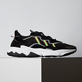 Adidas Originals OZWEEGO 男款 黑白綠 復古休閒 慢跑鞋 EE7002