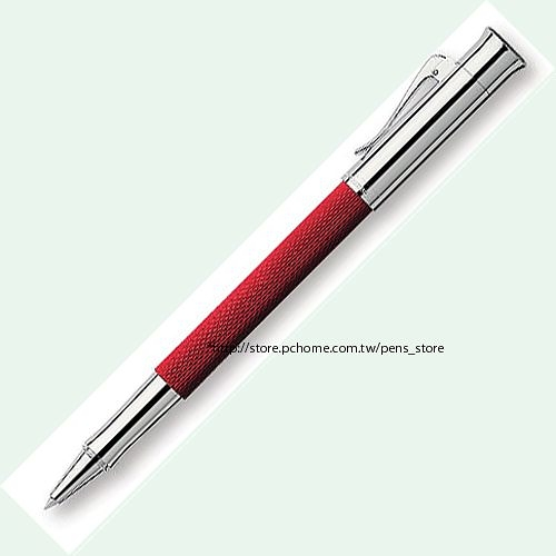 Graf von Faber-Castell Guilloche Roller-ball pen 繪寶頂級伯爵繩紋飾系列珊瑚紅鋼珠筆*146515