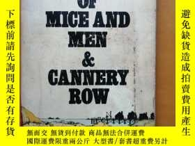 二手書博民逛書店Of罕見mice and men a Cannery rowY22687 John Steinbeok Pen