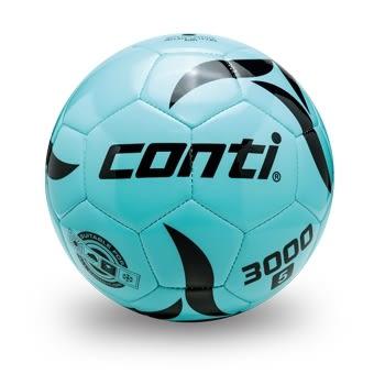 螢光專用足球(5號球) 水藍