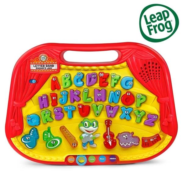 跳跳蛙LeapFrog 字母發音樂團學習板