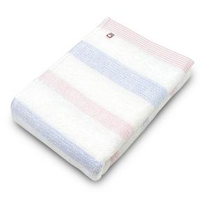 ORIM MULTI BORDER今治浴巾-櫻x藍118x58cm