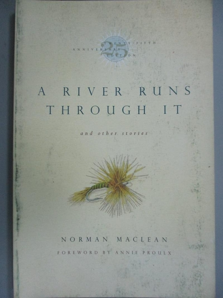 【書寶二手書T2/原文小說_LOP】A River Runs Through It_Norman MacLean