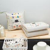 抱枕 睡枕 抱枕被子兩用辦公室午睡枕頭汽車沙發靠墊空調被 igo 歐萊爾藝術館