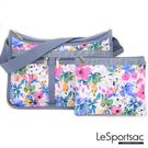 LeSportsac - Standard 雙口袋A4大書包-附化妝包 (花卉彩繪) 7507P F965
