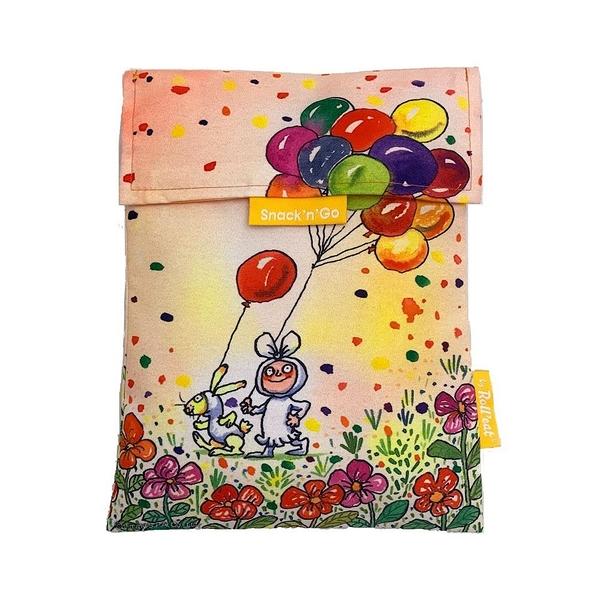 吃貨零食袋/幾米-我的心中每天開出一朵花/L【Roll'eat西班牙食物袋】