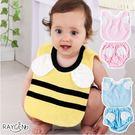 圍兜  天使 小蜜蜂 圍嘴 圓領圍兜 短內褲套裝 高檔竹纖維 口水巾