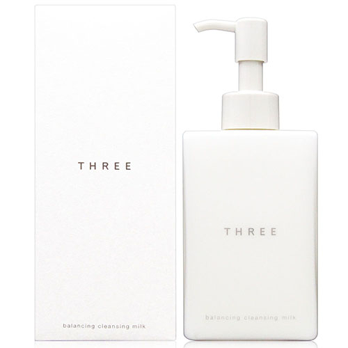 THREEBalancing Cleansing Milk 平衡潔膚乳200ml [QEM-girl]