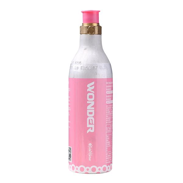 【回充交換鋼瓶】THOMSON 多功能健康氣泡水機 TM-SAU01R 配件:二氧化碳氣瓶(210g) 桃紅色(限同款鋼瓶)