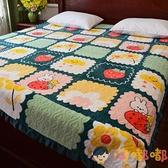 加厚牛奶絨床蓋墊毛毯床單毛防滑水晶絨珊瑚絨夾棉炕蓋【淘嘟嘟】