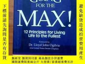 二手書博民逛書店going罕見for the max--12 principle