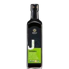 喜樂之泉~有機薄鹽醬油500ml/罐