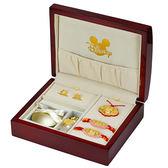 迪士尼系列金飾-彌月金飾禮盒-吉祥美妮款