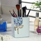 創意時尚可愛小清新化妝刷筆筒辦公室桌面收納盒商務禮品 桃園百貨