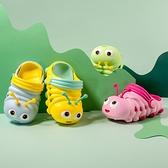 洞洞鞋 寶寶拖鞋夏1-3歲防滑2嬰幼兒女童兒童涼拖可愛軟底家居男童洞洞鞋 夢藝