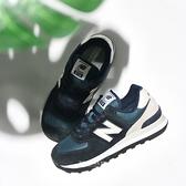 NEW BALANCE 休閒鞋 NB574 復古 深藍灰 麂皮 男 (布魯克林) ML574BD2
