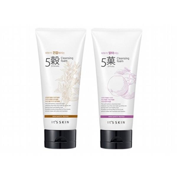 韓國Its Skin 五穀花果茶潔面乳(180ml) 款式可選【小三美日】洗面乳