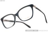 JIMMY CHOO 光學眼鏡 JC130J W54 (透藍) 優雅別緻大框款 # 金橘眼鏡