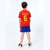 2018國家隊足球服套裝男孩小學生足球訓練服夏球衣兒童短袖隊服