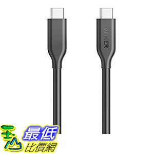 [106美國直購] Anker PowerLine USB-C to USB-C 3.1 Gen 1 Cable(3ft)with Power Delivery 充電線 傳輸線
