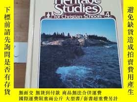 二手書博民逛書店Heritage罕見Studies for Christian Schools 4Y15335