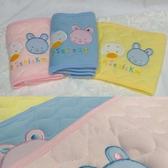 BabyShare時尚孕婦裝【SU261】現貨 台灣製造 可愛動物造型 鋪棉壓紋寶寶肚圍 包巾 魔鬼氈
