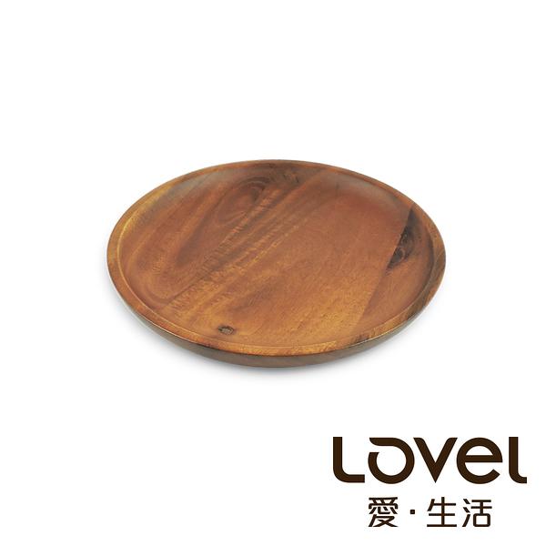 LOVEL 洋槐木點心盤16cm