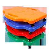 【雙十二】秒殺感統訓練器材 滑板車兒童平衡板四輪大滑板早教幼兒園方形滑行車多色 igo gogo購