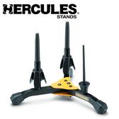 【小叮噹的店】 Hercules 海克力斯 DS543BB 長笛+豎笛+短笛 三合一架(附袋)