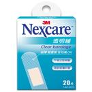 【3M Nexcare】透明繃 20片/ 盒