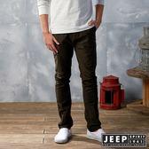 【JEEP】美式越野冒險休閒百搭長褲 (深咖啡)