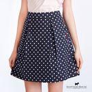 滿版點點打摺造型裙 Scottish House【AC2155】