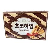 Crown 榛果巧克力醬威化酥142g【愛買】