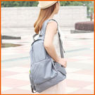 【Love Shop】可折疊的旅行雙肩背包/可收納變小/摺疊收納包旅行雙肩背包