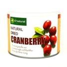歐納丘純天然整顆蔓越莓乾 210g   3罐