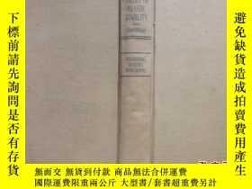 二手書博民逛書店THEORY罕見OF ELASTIC STABILITY【彈性穩